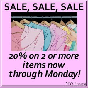 Tops - 20% Off SALE this weekend only!